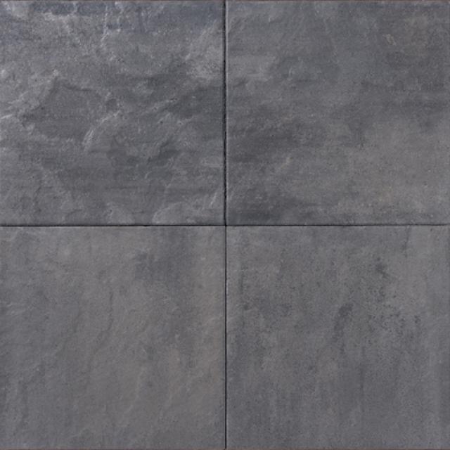 Betontegels Leisteen 60x60x6 Grijszwart
