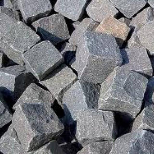 Graniet Tegels Turks Basalt 8x11cm Antraciet  6000496