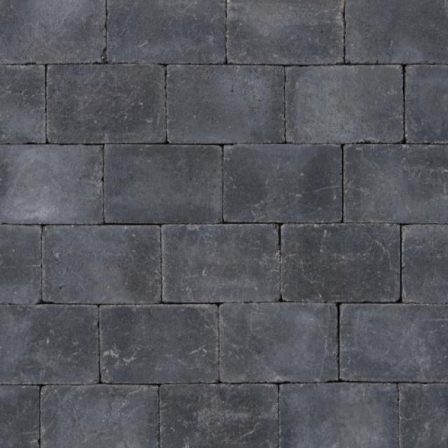 Klinkers Stenen Abbeystones Getrommeld 14x21x6cm Antraciet