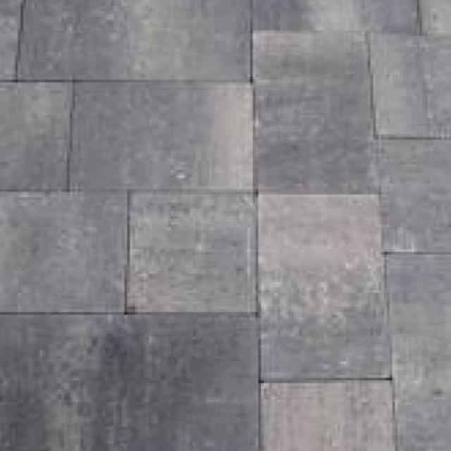 Excluton Abbeystones Getrommeld Wildverband Grijs/Zwart 1000207v1