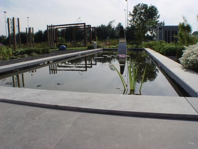 Excluton Siam Bluestone Vijverrand 100x25x3cm verzoet 5001372