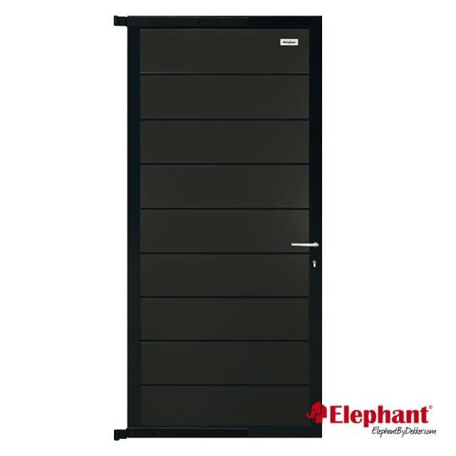 Elephant modulair poort antraciet 90x174cm