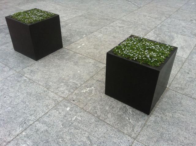 Chinees hardsteen terrastegels gevlamd/geborsteld 80x80x2,5cm