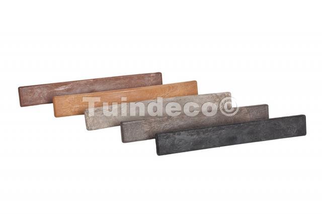 Eindkap premium composiet redwood