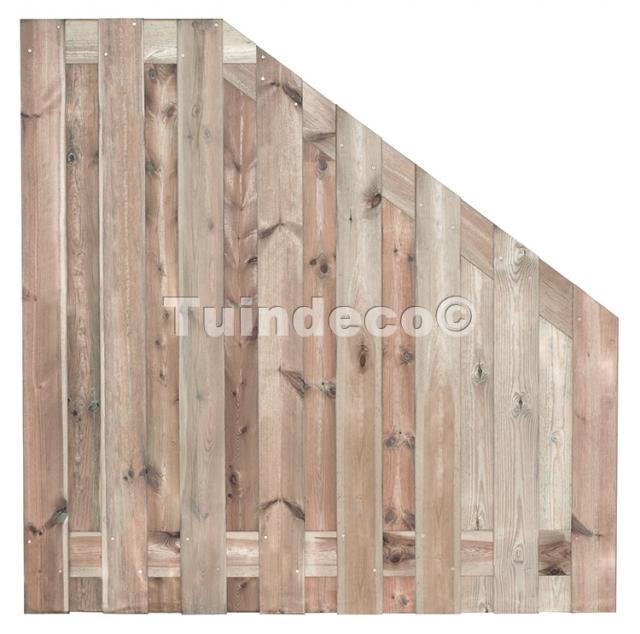 Tuinscherm Coevorden verloop 180>90x180 cm