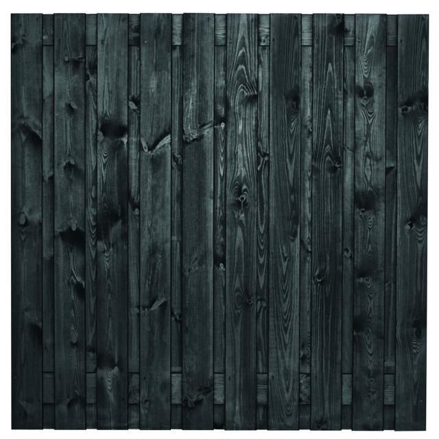 Tuinscherm Stuttgart zwart gespoten 4 180x180cm  8.52180