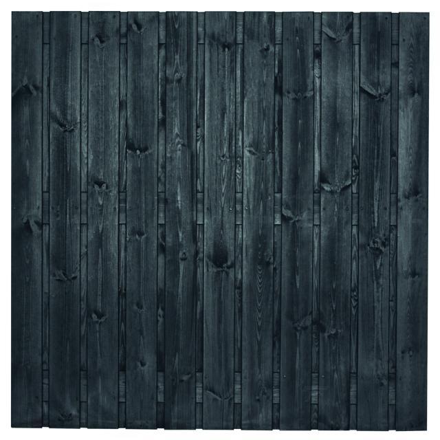 Tuinscherm Dresden zwart gespoten 4 180x180cm