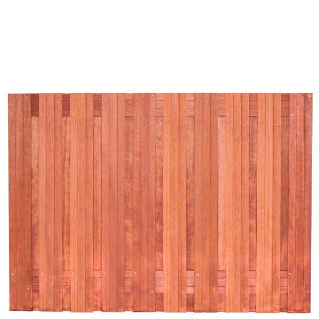 Tuinscherm Dronten Hardhout 2 130x180cm