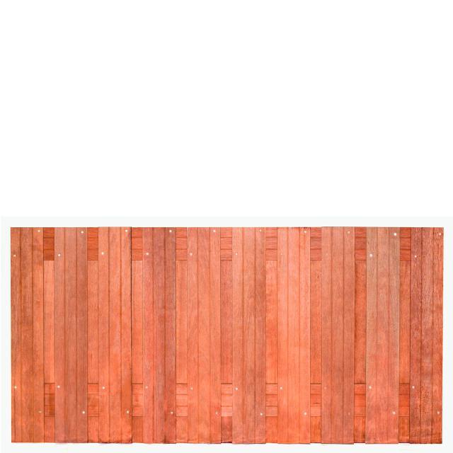 Tuinscherm Dronten Hardhout 1 90x180cm   8.42090