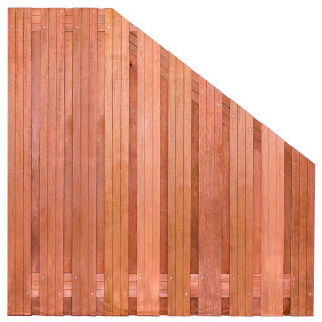 Tuinscherm Dronten Hardhout 5 180>90x180cm 8.42918