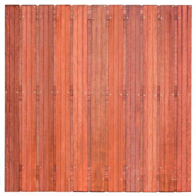 Tuinscherm Hoorn Hardhout 4 180x180cm  8.43180