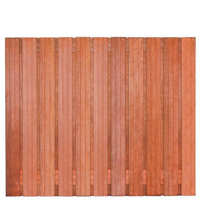 Tuinscherm Hoorn Hardhout 3 150x180cm