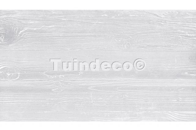 Onderplaat Houtmotief Wit/grijs