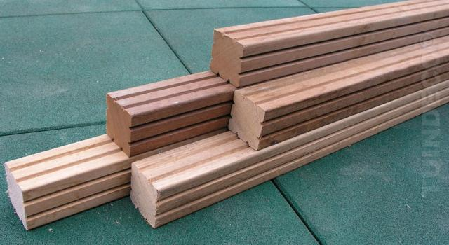 Hardhout Azobe paal 6.5x275 1.65270