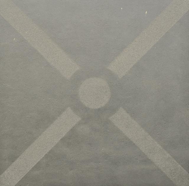 Excluton Optimum Decora Graphite Bow 60x60x4cm 2000576
