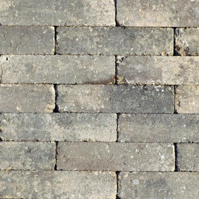 Klinkers Stenen Abbeystones Getrommeld 20x5x7cm Giallo