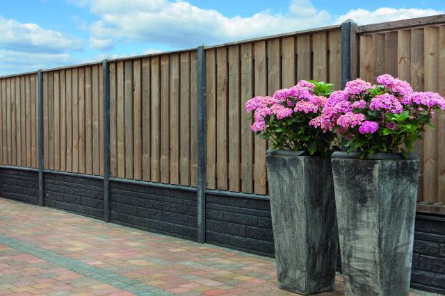 Hout-beton Grenen Enschede 130x180 rotsmotief betonsysteem incl. plaatsen