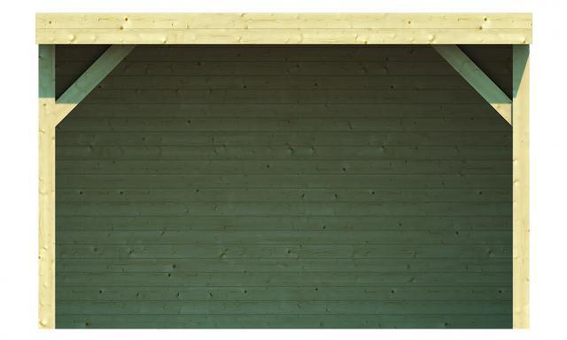Blokhutprieel Monne plat dak 40.0895