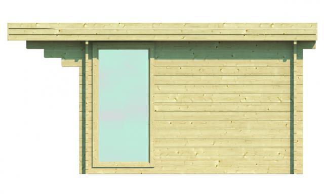 Blokhut Lory Plat dak 40.0802