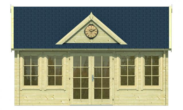 Blokhut clockhouse Trevor Puntdak 40.0867