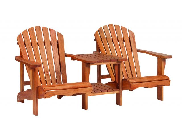 Loveseat Relax hardhout
