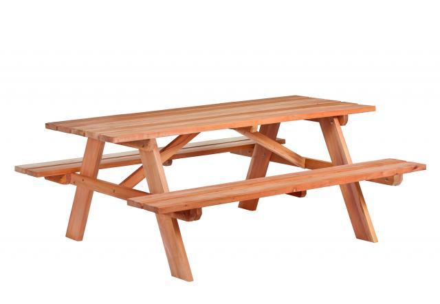Picknicktafel Comfort hardhout L180xB160xH75cm 30.0009