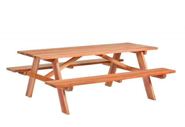 Picknicktafel Business hardhout L200xB160xH75cm