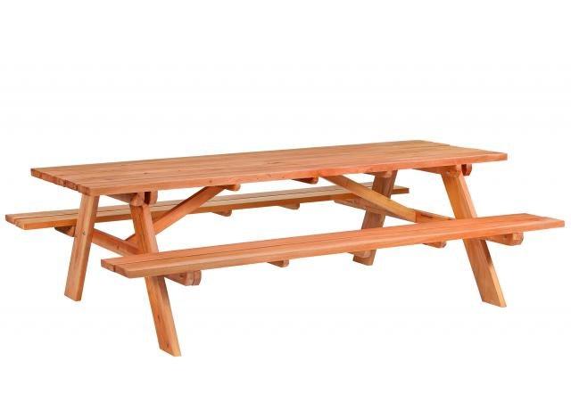 Picknicktafel Giant hardhout L250xB160xH75cm