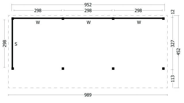 Kapschuur Bergen type 6 XL geplaatst 42.7990