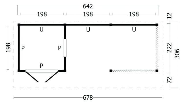 Kapschuur Bergen type 8 geplaatst 42.7984