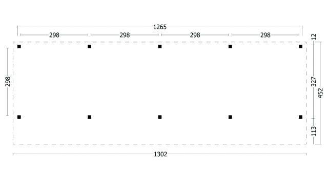 Kapschuur Bergen type 9 XL geplaatst 42.7993