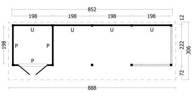 Kapschuur Bergen type 11 geplaatst 42.7987