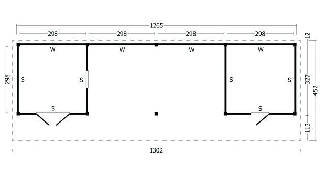 Kapschuur Bergen type 12 XL geplaatst 42.7996