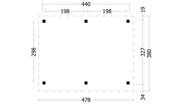 Plat dak Oslo type 1 geplaatst 42.7900