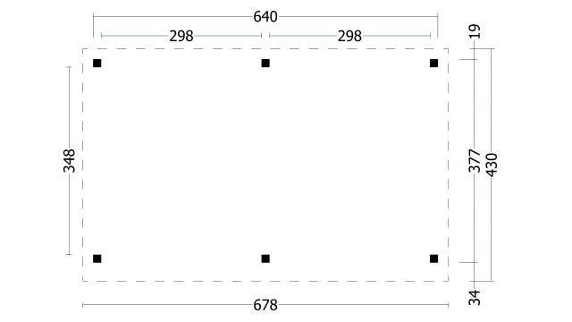 Plat dak Oslo type 1 XL geplaatst 42.7905