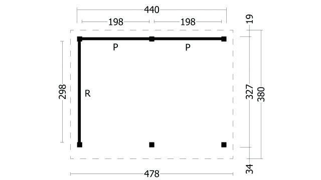 Plat dak Oslo type 2 geplaatst 42.7902