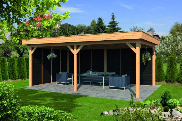 Plat dak Oslo type 2 XL geplaatst