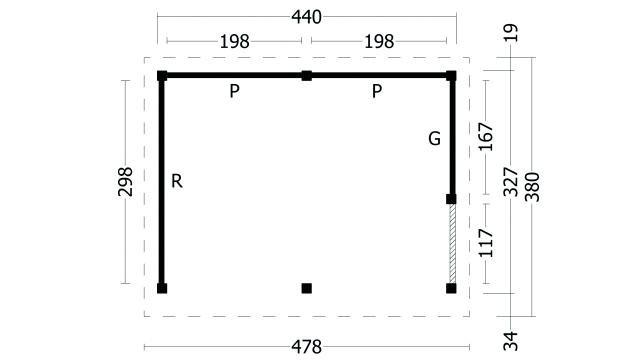Plat dak Oslo type 3 geplaatst 42.7903