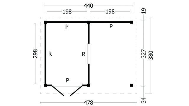 Plat dak Oslo type 4 geplaatst 42.7904