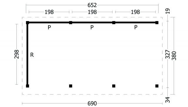 Plat dak Oslo type 6 geplaatst 42.7966