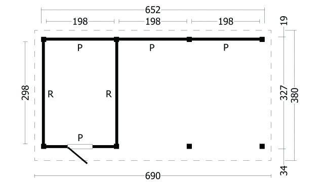 Plat dak Oslo type 7 geplaatst 42.7967