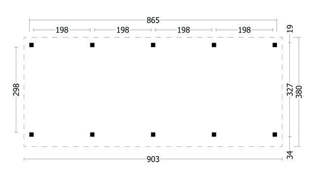 Plat dak Oslo type 9 geplaatst 42.7969