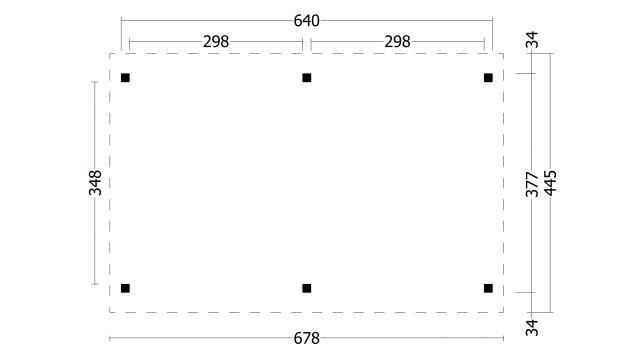 Zadeldak Hamar type 1 XL geplaatst 42.7925