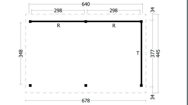 Zadeldak Hamar type 2 XL geplaatst 42.7927