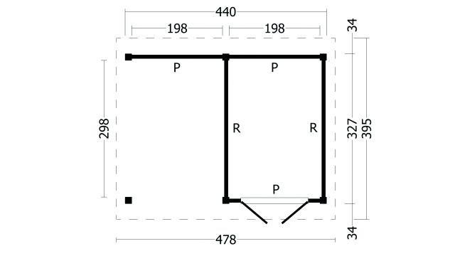 Zadeldak Hamar type 3 geplaatst 42.7923