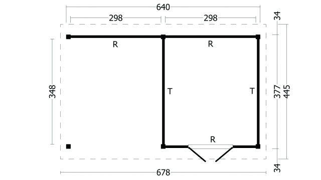 Zadeldak Hamar type 3 XL geplaatst 42.7928