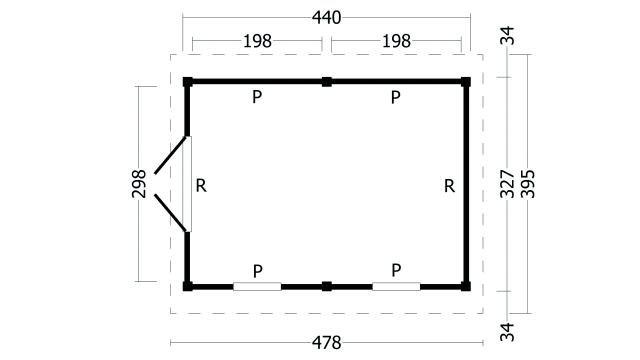 Zadeldak Hamar type 4 geplaatst 42.7924