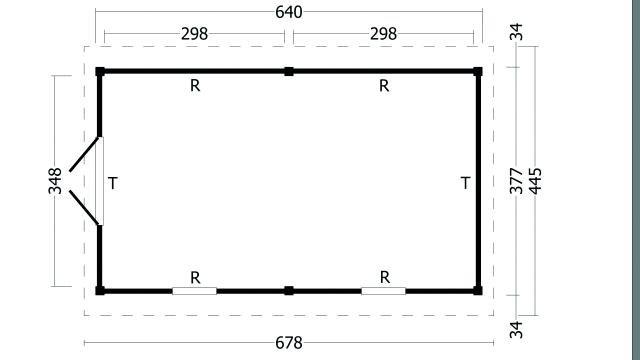 Zadeldak Hamar type 4 XL geplaatst 42.7929