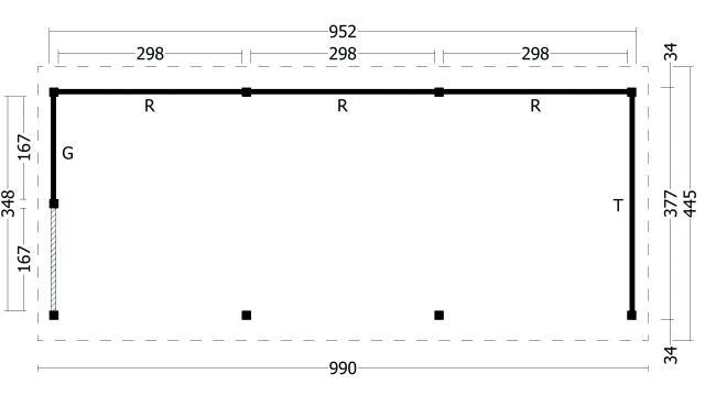 Zadeldak Hamar type 6 XL geplaatst 42.8006