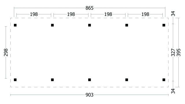 Zadeldak Hamar type 9 geplaatst 42.8001
